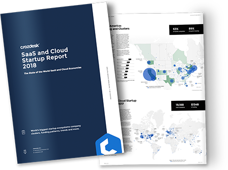 Crozdesk SaaS and Cloud Startup Report 2018