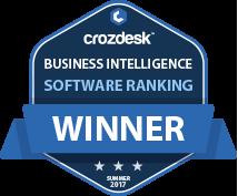 SimilarWeb Business Intelligence (BI) Software Award 2017