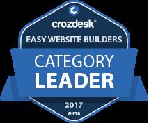 Easy Website Builders Leader Badge