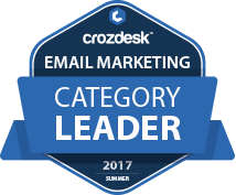 SendinBlue Email Marketing Software Award 2017