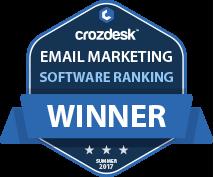 Email Marketing Winner Badge