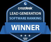 Lead Generation Winner Badge