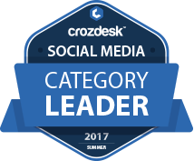 Crowdfire Social Media Software Award 2017