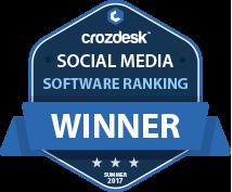 Buffer Social Media Software Award 2017