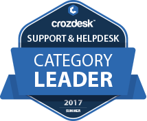 Zendesk Support & Helpdesk Software Award 2017