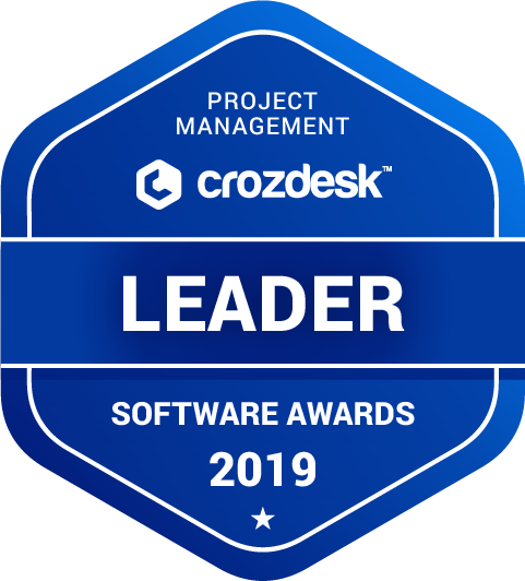 Smartsheet Project Management Software Award 2019