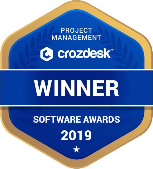 ProProfs Project Project Management Software Award 2019