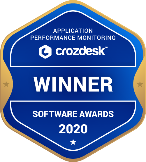 Application Performance Monitoring (APM) Winner Badge