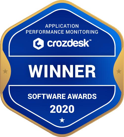 Application Performance Monitoring (APM) Winner Badge