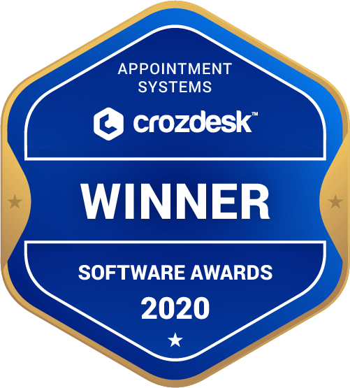 Appointment Systems Winner Badge