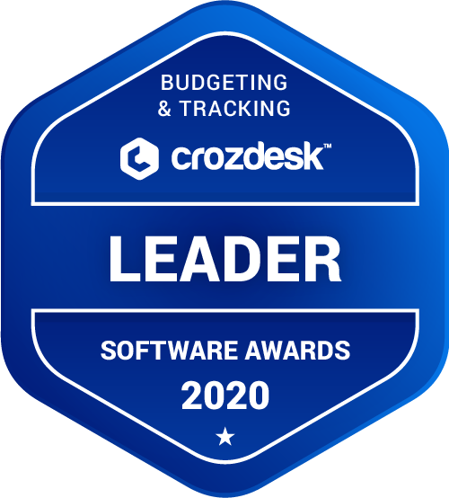NetSuite Budgeting & Tracking Software Award 2020