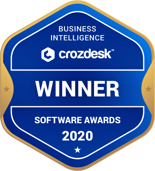 SAP Crystal Server Business Intelligence (BI) Software Award 2020