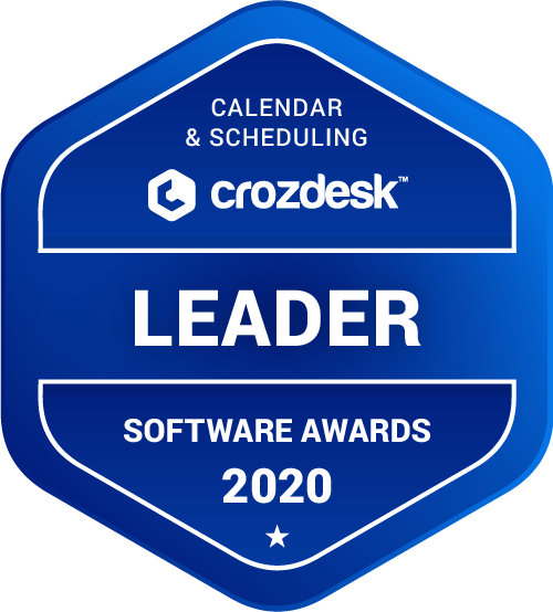 10to8 Calendar & Scheduling Software Award 2020
