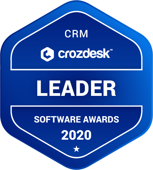 Pipedrive CRM Software Award 2020