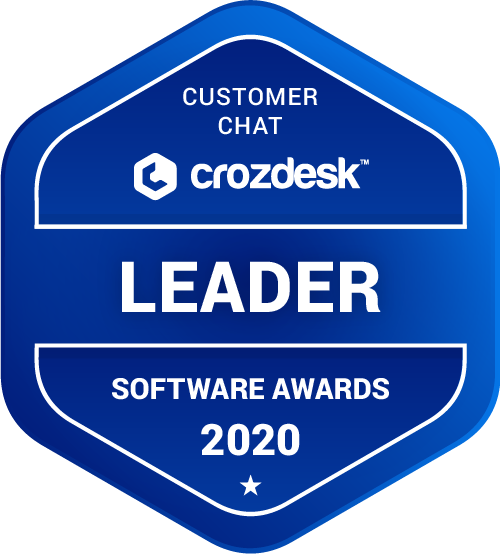 LiveAgent Customer Chat Software Award 2020