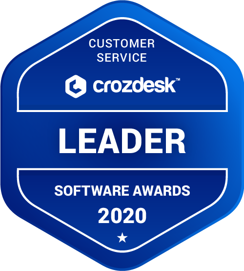 Zendesk Customer Service Software Award 2020