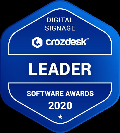 Mvix Digital Signage Software Award 2020