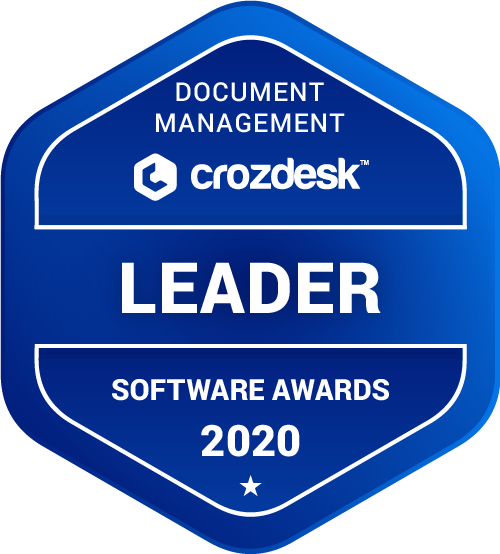 Laserfiche Document Management Software Award 2020