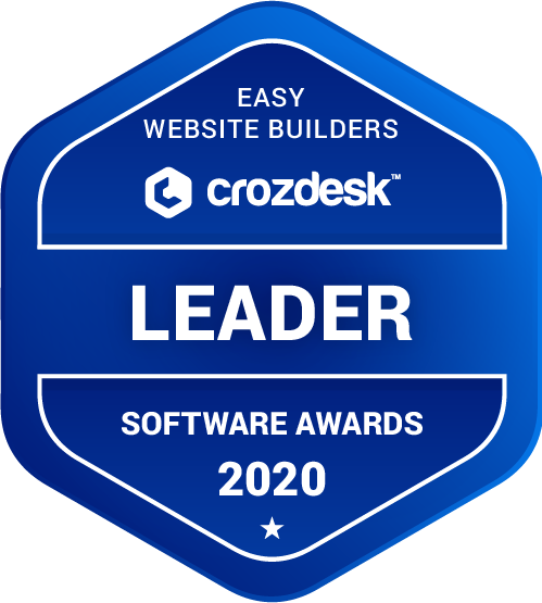 Squarespace Easy Website Builders Software Award 2020
