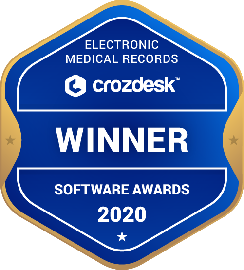 Electronic Medical Records Winner Badge