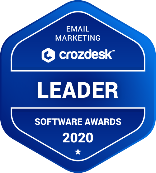 SendinBlue Email Marketing Software Award 2020