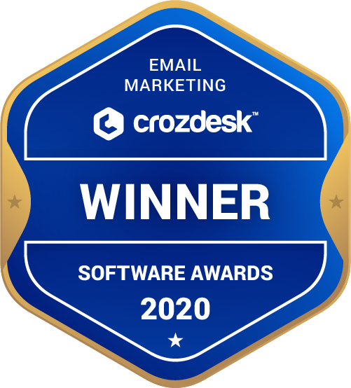 Omnisend Email Marketing Software Award 2020