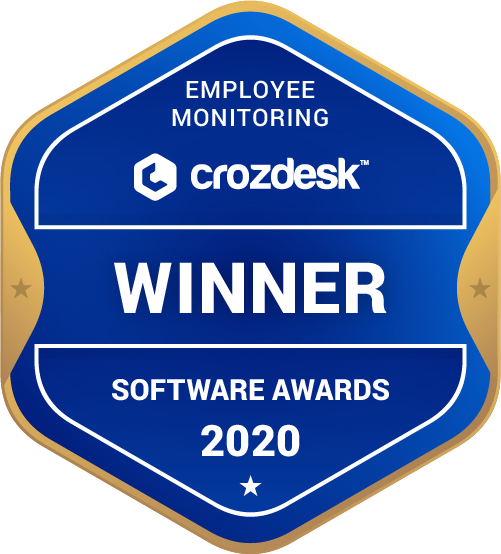 ActivTrak Employee Monitoring Software Award 2020