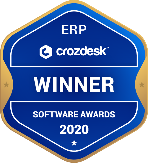 Microsoft Dynamics 365 ERP Software Award 2020