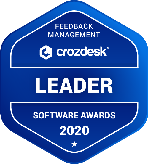 QuestionPro Feedback Management Software Award 2020