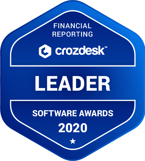 HostBooks Accounting Financial Reporting Software Award 2020