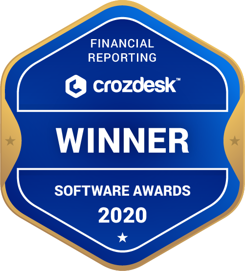 Financial Reporting Winner Badge