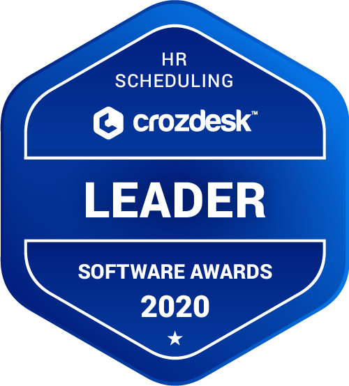 CakeHR by Sage HR Scheduling Software Award 2020