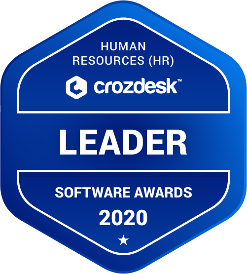 Zoho People Human Resources (HR) Software Award 2020