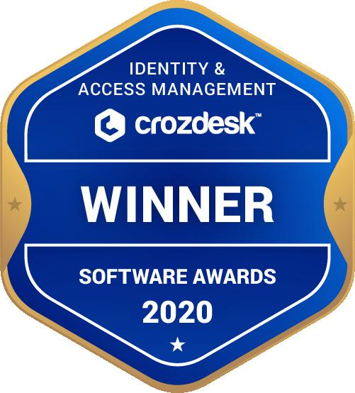 Identity & Access Management Winner Badge