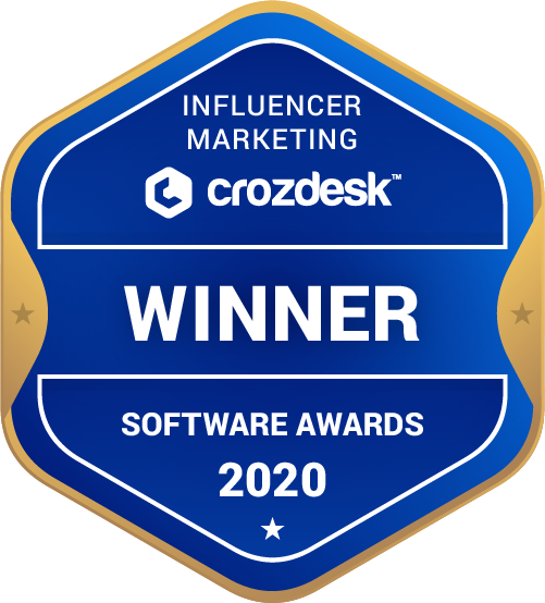 Grin Influencer Marketing Software Award 2020