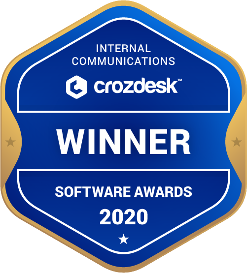 Beekeeper Internal Communications Software Award 2020