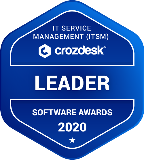 ServiceNow IT Service Management (ITSM) Software Award 2020