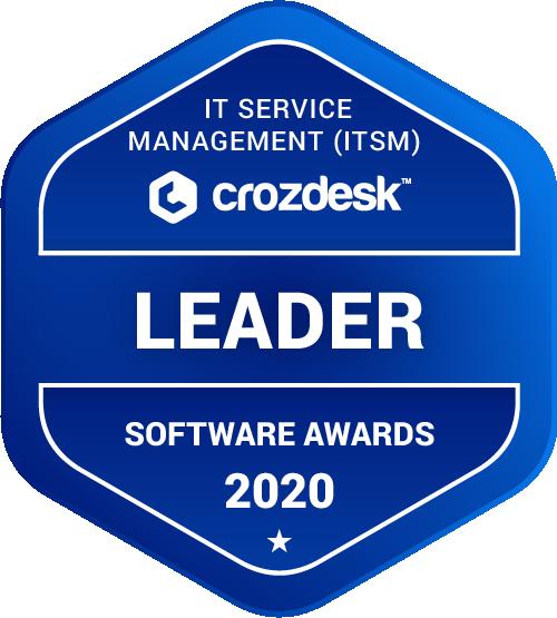 Spiceworks Help Desk IT Service Management (ITSM) Software Award 2020