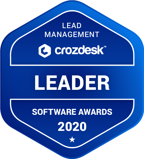 Insightly Lead Management Software Award 2020