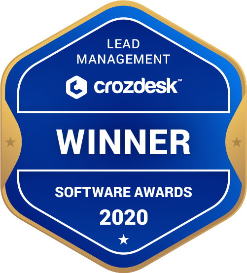 Pipedrive Lead Management Software Award 2020