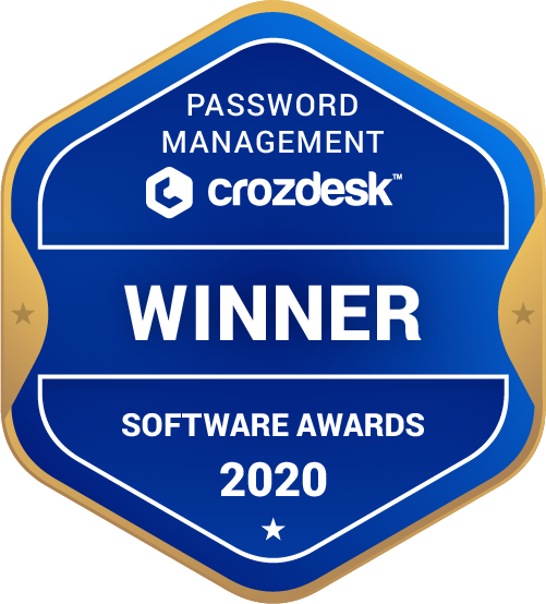 Password Management Winner Badge