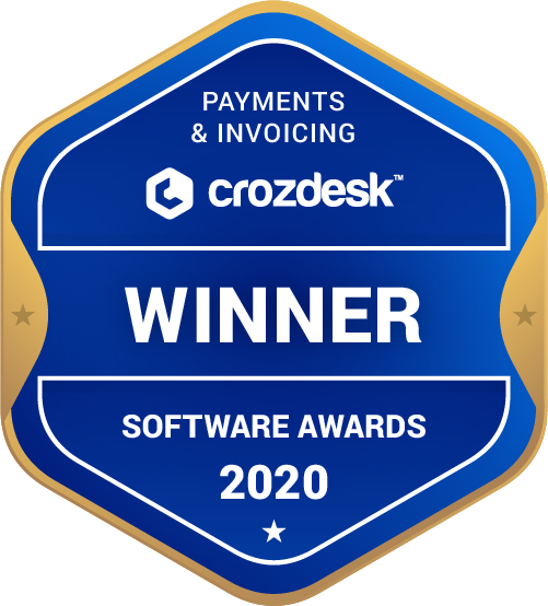FreeAgent Payments & Invoicing Software Award 2020