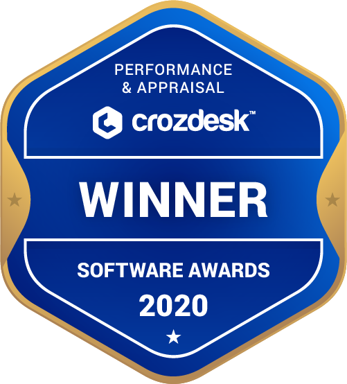 BambooHR Performance & Appraisal Software Award 2020