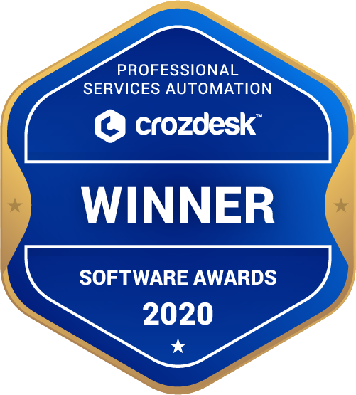 Professional Services Automation (PSA) Winner Badge