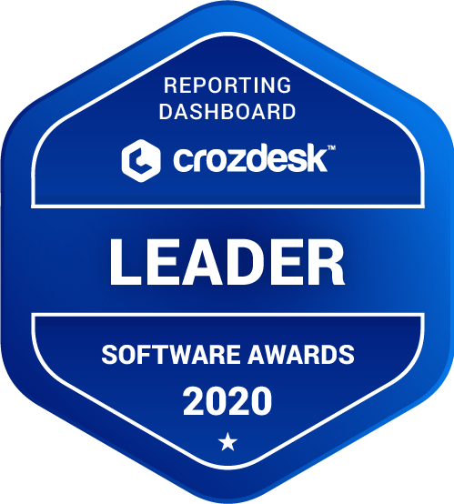 GoodData Reporting Dashboard Software Award 2020