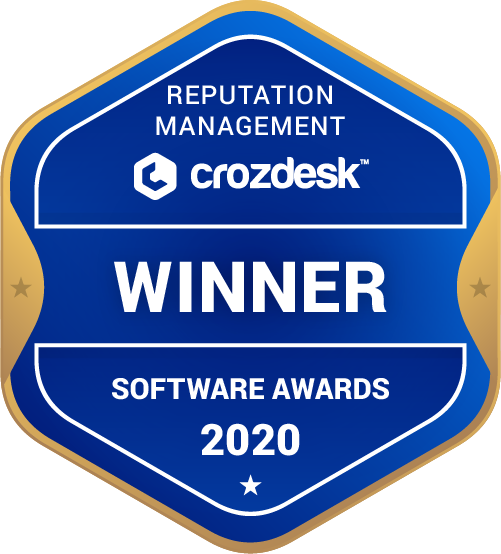 Reputation Management Winner Badge