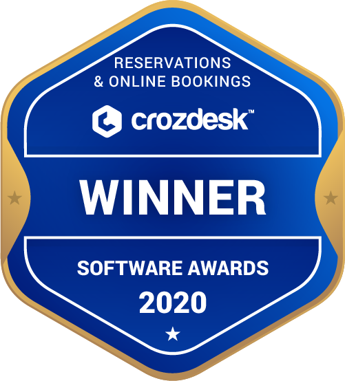 Reservations & Online Bookings Winner Badge
