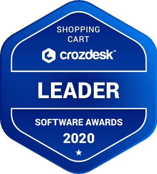 Shopping Cart Leader Badge