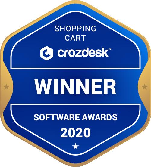 Shopping Cart Winner Badge