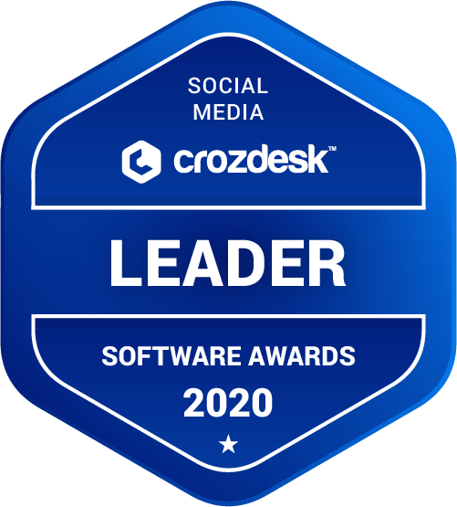 Sendible Social Media Software Award 2020